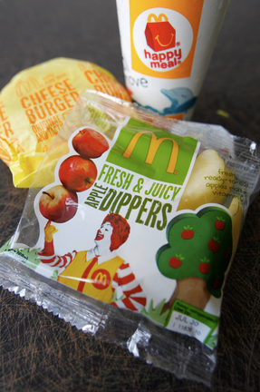 San Antonio Business Journal: McDonald's Adding Fresh Fruit To Every Happy Meal