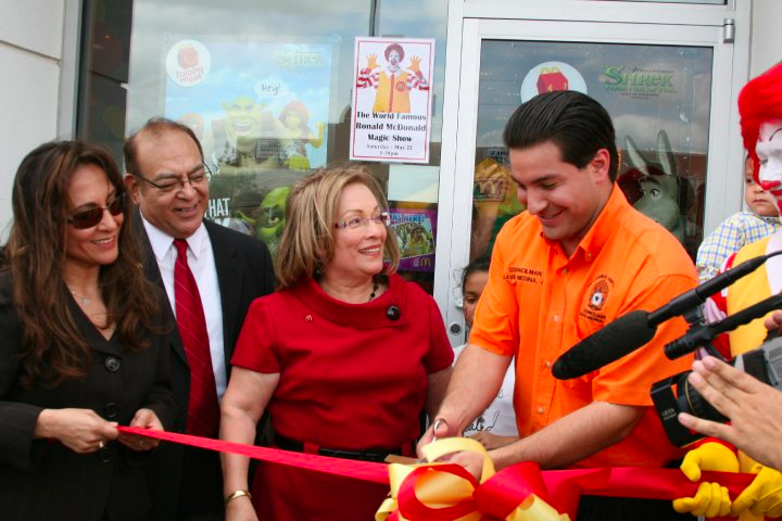 Grand Opening Of General McMullen Restaurant